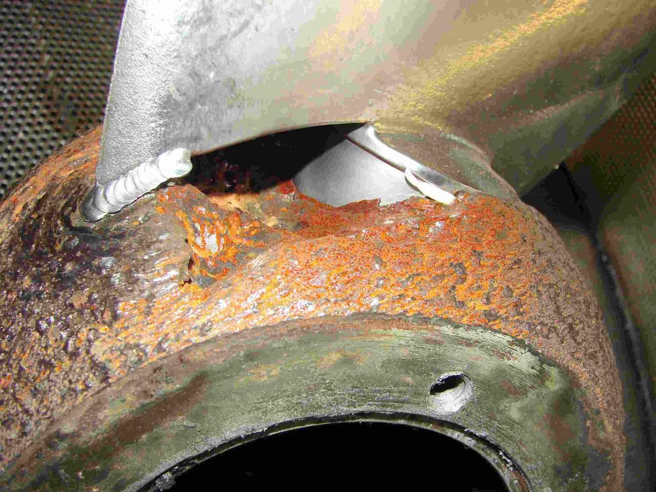 Korrosion Von Aluminium : Kontaktkorrosion